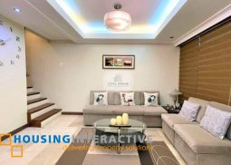 FULLY FURNISHED 2-STOREY, 4-BEDROOM HOUSE FOR RENT IN BRENTWOOD HEIGHTS