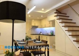 BRAND NEW FURNISHING AND FULLY RENOVATED 2-BEDROOM LOFT-TYPE UNIT FOR SALE IN PASEO PARKVIEW SUITES