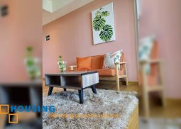 FULLY FURNISHED STUDIO UNIT WITH BALCONY FOR RENT IN AZURE URBAN RESORT RESIDENCES
