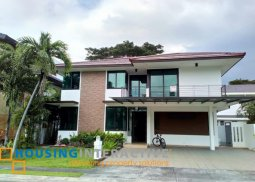 SEMI-FURNISHED 2-STOREY, 4-BEDROOM HOUSE WITH BALCONY & POOL FOR SALE/RENT IN AYALA SOUTHVALE SONERA
