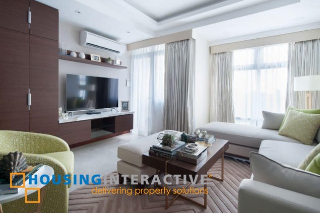 FULLY FURNISHED 2-BEDROOM UNIT WITH BALCONY FOR RENT IN PARK WEST