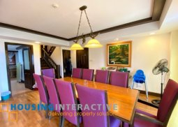 FULLY FURNISHED 3-BEDROOM PENTHOUSE WITH BALCONY FOR SALE IN WOODRIDGE, TAGAYTAY HIGHLANDS