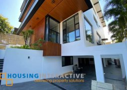 BRAND NEW 3-STOREY, 6-BEDROOM HOUSE FOR SALE IN AYALA ALABANG VILLAGE