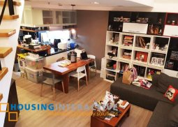 EXECUTIVE FULLY FURNISHED 1-BEDROOM LOFT UNIT FOR SALE IN THE GROVE