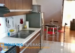 Furnished 2-bedroom unit with balcony in Eton Residences for rent