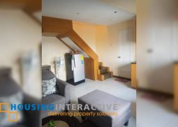 FULLY FURNISHED 2-BEDROOM LOFT UNIT FOR SALE IN VICTORIA DE MAKATI
