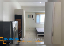 FULLY FURNISHED STUDIO UNIT FOR SALE IN JAZZ RESIDENCES