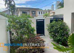 SEMI-FURNISHED 2-STOREY, 5-BEDROOM HOUSE WITH POOL FOR RENT IN SAN LORENZO VILLAGE