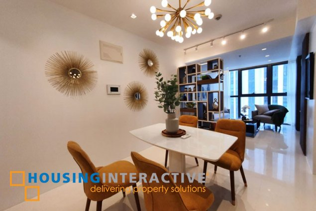 FULLY FURNISHED 2BR UNIT FOR LEASE IN UPTOWN RITZ RESIDENCES BGC