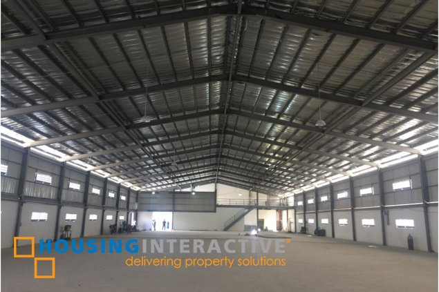 WAREHOUSE FOR SALE IN RUHALE C6 TAGUIG
