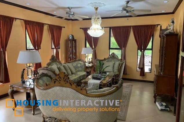 CLASSY 2-STOREY, 6-BEDROOM WITH BALCONY FOR SALE/RENT AYALA WESTGROVE HEIGHTS