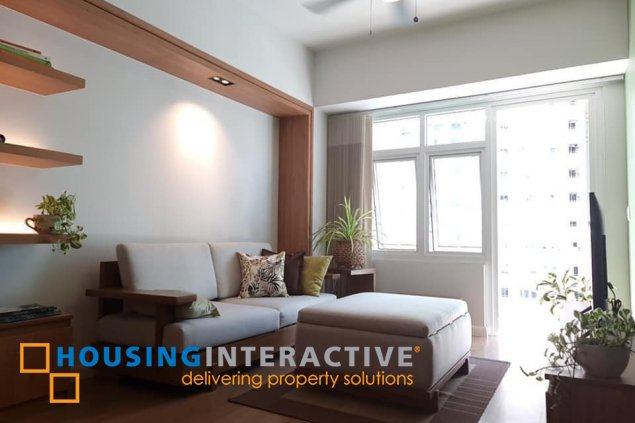 FULLY FURNISHED 1-BEDROOM UNIT WITH BALCONY FOR RENT IN TWO SERENDRA