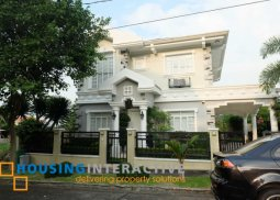 FULLY FURNISHED 2-STOREY, 3-BEDROOM PARISIAN HOME FOR SALE IN SOUTH FORBES GOLF CITY