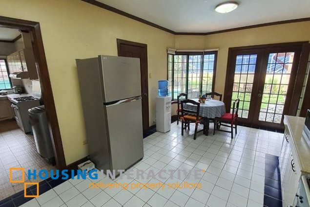 EXEMPLARY 2-STOREY, 4-BEDROOM HOUSE FOR RENT IN AYALA ALABANG VILLAGE