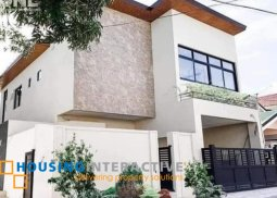 SEMI-FURNISHED 2-STOREY, 5-BEDROOM LUXE HOUSE FOR SALE IN NSHA VILLAGE
