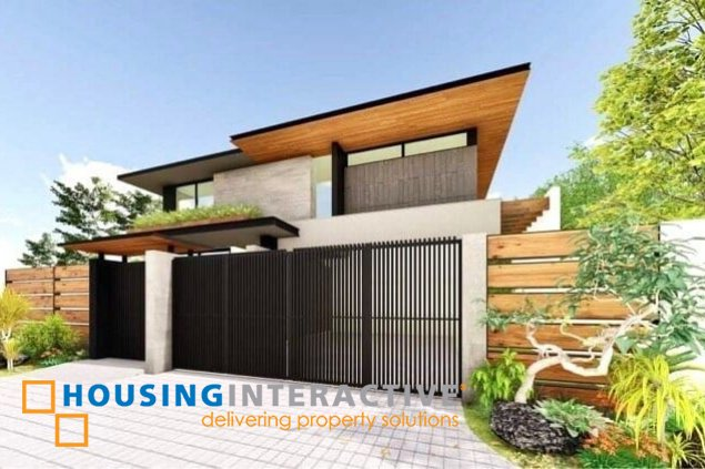 BRAND NEW 2-STOREY, 5-BEDROOM HOUSE FOR SALE IN AYALA HEIGHTS