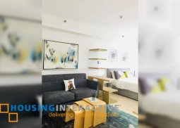 SEMI FURNISHED STUDIO UNIT FOR SALE IN THE INFINITY TOWER BGC