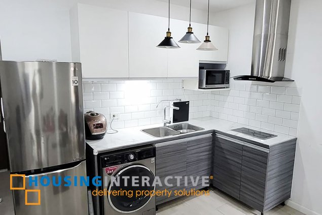 FULLY FURNISHED 1-BEDROOM UNIT FOR RENT IN SEIBU TOWER