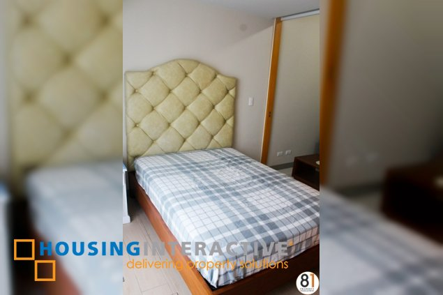 FULLY FURNISHED 1 BR FOR lease