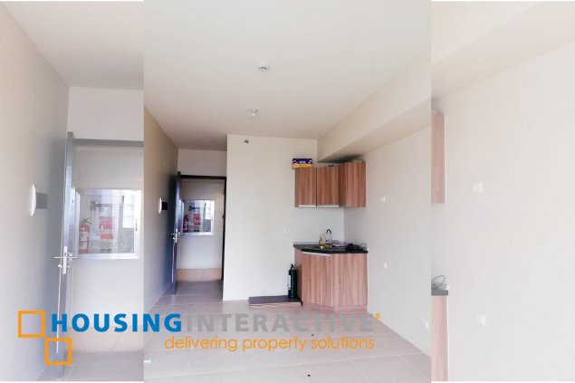 UNFURNISHED STUDIO TYPE FOR LEASE IN THE AVIDA TOWERS PRIME TAFT