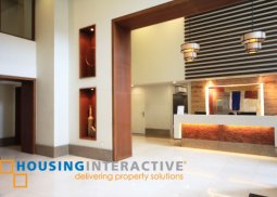 UNFURNISHED STUDIO CONDO UNIT FOR SALE AT THE GROVE BY ROCKWELL PASIG