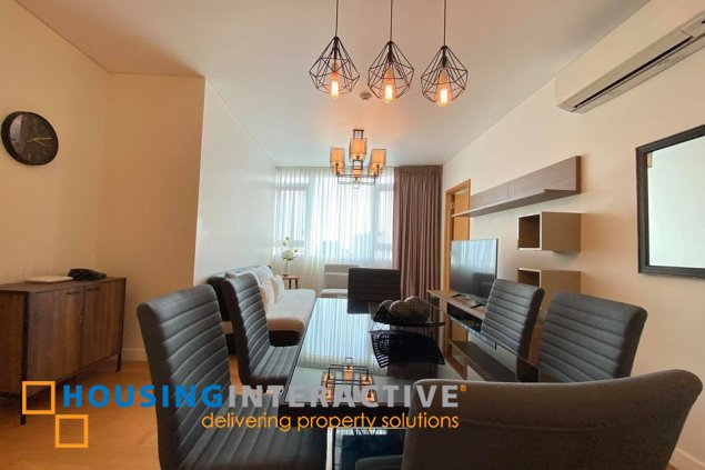 FULLY FURNISHED 2-BEDROOM UNIT FOR RENT IN PARK TERRACES