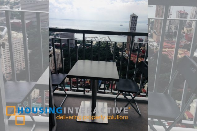 A FULLY FURNISHED 1 BEDROOM UNIT FOR LEASE IN GREEN RESIDENCES MANILA