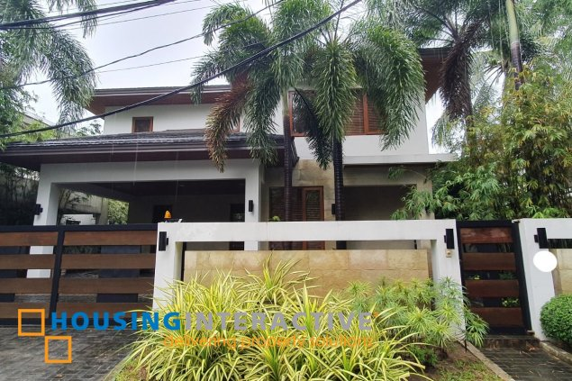 LUXURIOUS 2-STOREY, 3-BEDROOM HOUSE FOR RENT IN SAN LORENZO VILLAGE