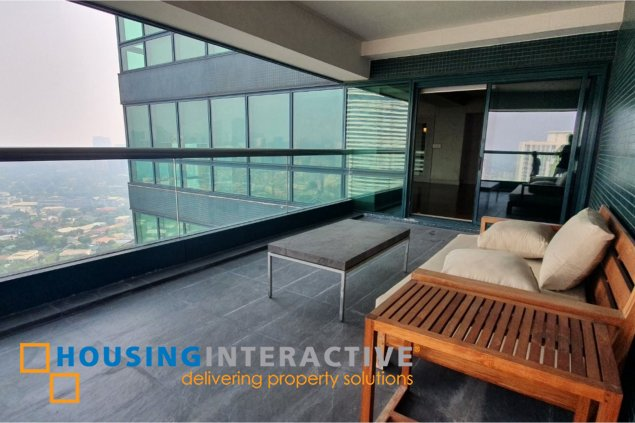 SEMI FURNISHED 4BR PENTHOUSE FOR LEASE IN RIZAL TOWER