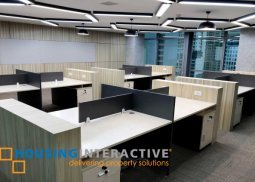 Fitted out office space for lease in Makati