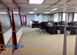 Fitted office space for lease in Makati