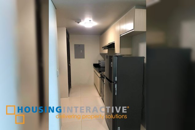 FULLY FURNISHED 1BR UNIT FOR RENT/SALE IN KROMA TOWER