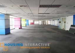 As-is-where-is office for lease in Ortigas