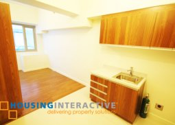 UNFURNISHED STUDIO TYPE CONDO UNIT FOR RENT AT THE ETON TOWER MAKATI