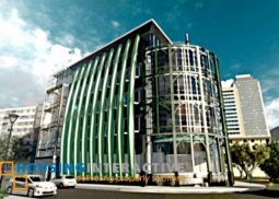 Bare shell office space for lease in Makati