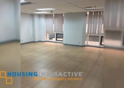 Office space for lease in Pasig