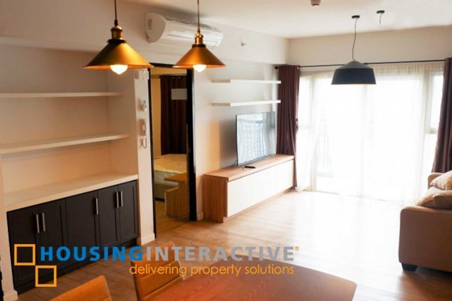 Cozy 1br condo unit for rent at The One Maridien BGC