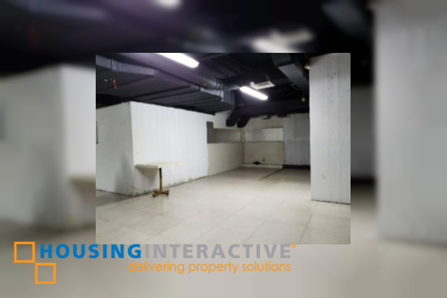 Office or retail space for lease in Quezon City