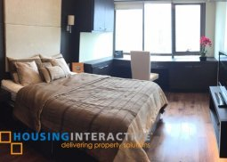 Modern Interior Decorated 1br condo unit for rent at The Joya Lofts and Towers Makati