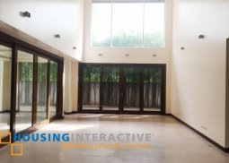 Brand new spacious 4br house and lot for sale at The Ayala Alabang Village Muntinlupa