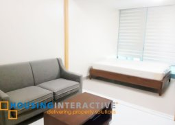 Cozy 1br Fully furnished Condo for Rent at One Uptown Residences at BGC