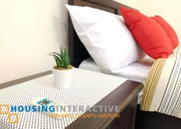 Fully Furnished studio condo unit for rent in McKinley Hill