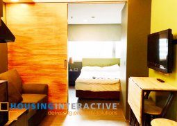 Simple Studio type Fully furnished Condo for Sale at The Exchange Regency