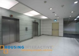 Semi-fitted office unit for lease in BGC
