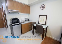 Simple studio condo unit for rent at The Eton Tower Makati