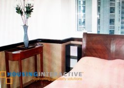 FULLY FURNISHED 2 BEDROOM UNIT FOR RENT AT THE COLUMNS AYALA