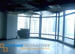Bare shell office space in Ortigas