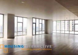 Unfurnished 3br condo unit for rent at The Proscenium at Rockwell