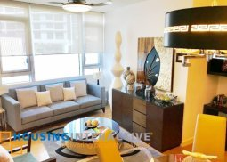 Fully Furnished & Lavishly interior-ed 2br condo unit for Rent/Sale at The Park Terraces Makati