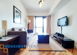 Fully furnished 1br condo unit for sale at The South Joya Lofts and Towers Makati